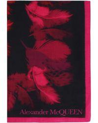 Alexander McQueen Foulard stampato - Multicolore