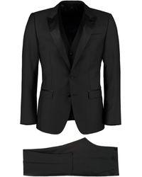 Dolce & Gabbana Three-piece Suit - Black