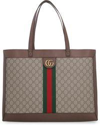 Gucci Tote bag Ophidia in tessuto GG supreme - Neutro