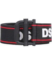 DSquared² Cintura in tessuto - Nero