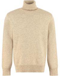 Universal Works Wool Blend Turtleneck Jumper - Natural