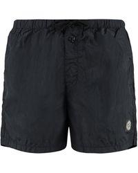 Stone Island Metal Nylon Swim Shorts - Blue