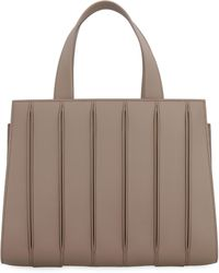 Max Mara Whitney Leather Handbag - Brown