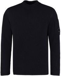 C.P. Company - Maglione in lana a coste - Lyst