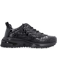 Givenchy Sneakers GIV 1 in pelle stampata - Nero