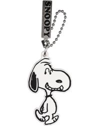 Marc Jacobs Key Ring With Decorative Charms - White
