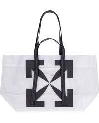 Off-White c/o Virgil Abloh Pvc Tote Bag - Multicolour