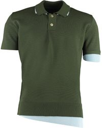 Jacquemus Polo in maglia di lana - Verde