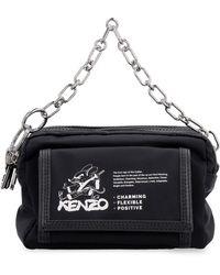 KENZO Camera bag in tessuto tecnico - Nero