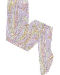 Emilio Pucci Collant elasticizzato in nylon - Multicolore