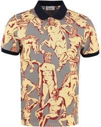 Ferragamo Cotton-piqué Polo Shirt - Multicolor