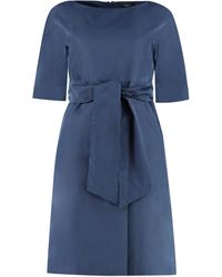 Weekend by Maxmara Pesi Sheath Dress - Blue