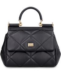 Dolce & Gabbana - Sicily Small Leather Handbag - Lyst