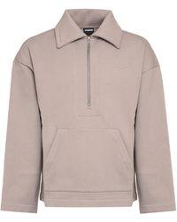 Jacquemus Cotton Sweatshirt - Multicolor