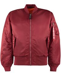 Alpha Industries Bomber reversibile MA-1 - Rosso