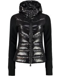 3 MONCLER GRENOBLE - Giacca con pannello frontale imbottito - Lyst