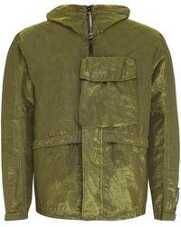 C P Company Mille Miglia Techno Fabric Jacket - Green