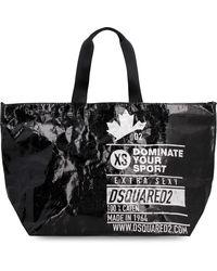 DSquared² Logo Detail Tote Bag - Black