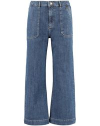 ALEXACHUNG Jeans coulotte - Blu