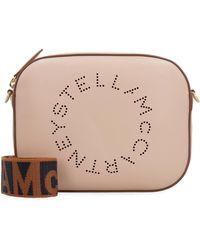 Stella McCartney Stella Logo Camera Bag - Natural