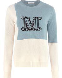 Max Mara Cashmere Pullover - Blue