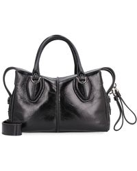 Tod's Mini-bag D-Styling in pelle - Nero