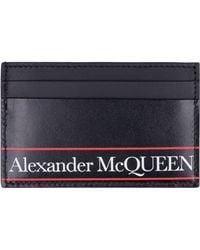 Alexander McQueen Porta Carte - Nero