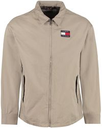 Tommy Hilfiger Overshirt full-zip in cotone - Multicolore