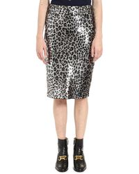 MICHAEL Michael Kors - Sequin Pencil Skirt - Lyst