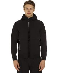 Stone Island Hooded Techno Fabric Jacket - Black