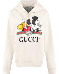 Gucci Oversize Hoodie - Disney X - White