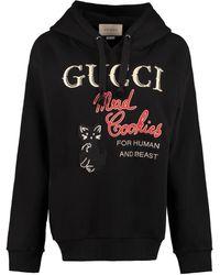 Gucci 'mad Cookies' Print Sweatshirt - Black