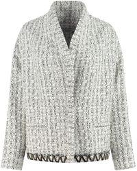IRO Skia Tweed Jacket - White