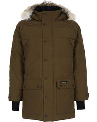 Canada Goose Emory Hooded Parka - Green
