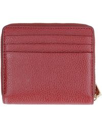 MICHAEL Michael Kors Small Leather Wallet - Red
