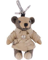 Burberry Portachiavi orsetto Thomas - Neutro