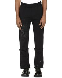 A_COLD_WALL* Stretch Cotton Track-pants - Black