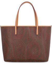 Etro - Tote bag con motivo paisley - Lyst