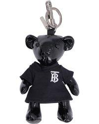 Burberry Thomas Teddy-bear Key Holder - Black