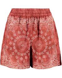 Golden Goose Shorts ampi - Rosso