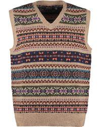 Polo Ralph Lauren Gilet in maglia di lana - Neutro