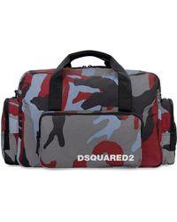 DSquared² Nylon Duffle Bag - Multicolor