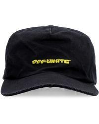 Off-White c/o Virgil Abloh Embroidered Baseball Cap - Black