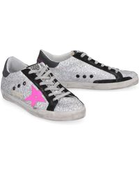 Golden Goose Deluxe Brand Sneakers Superstar glitter - Metallizzato