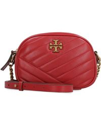 Tory Burch Kira Leather Camera Bag - Red