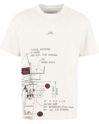 A_COLD_WALL* Crew-neck Cotton T-shirt - Natural