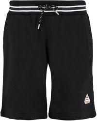 Pyrenex Mael Logo Print Track Shorts - Black
