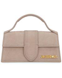 Jacquemus Le Bambino Suede Handbag - Natural