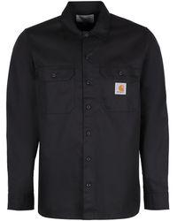 Carhartt Cotton Blend Master Long-sleeved Shirt - Black