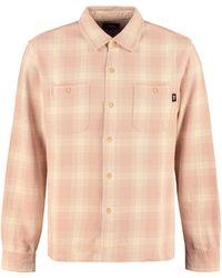 Stussy - Camicia in cotone a quadri - Lyst